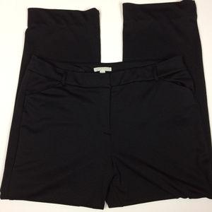 Dana Buchman Women's Black Knit Pants Sz 16